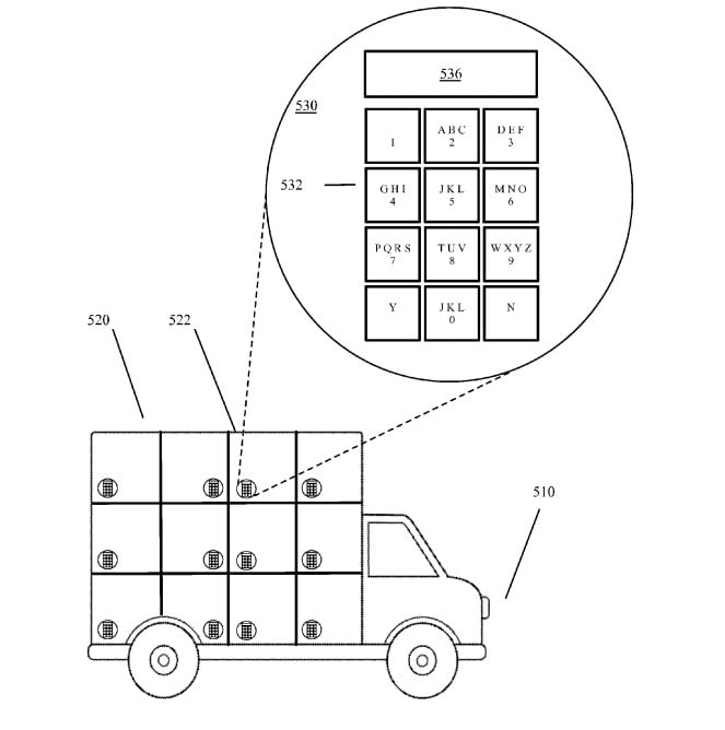 google self-driving delivery truck