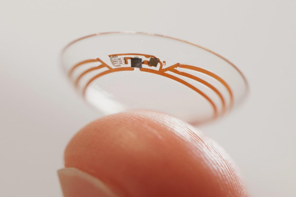 google developing smart contact lens monitors blood sugar levels