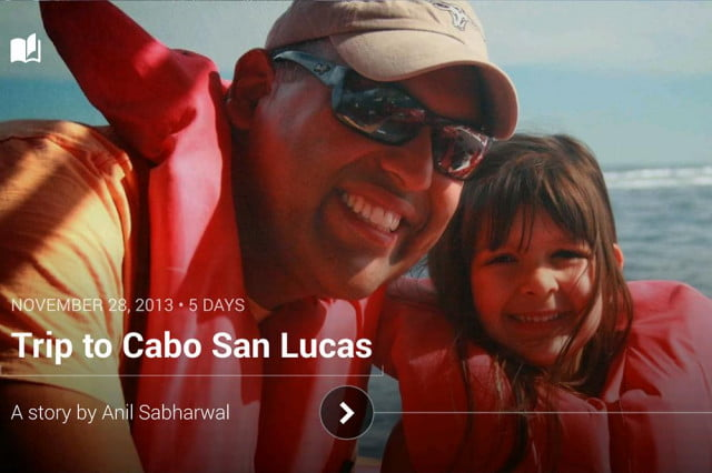 A Google Stories slideshow featuring Google's Director of Product Management Anil Sabharwal. Credit: Google