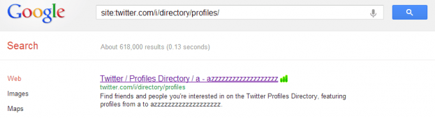 google twitter directory