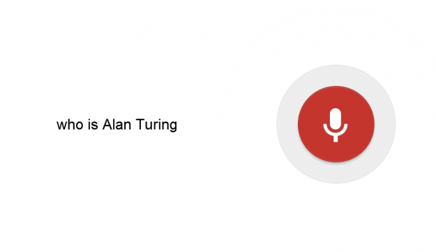 google voice search who is alan turing