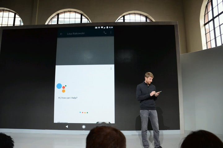 talk to ai assistants like your pets googleassistant event head