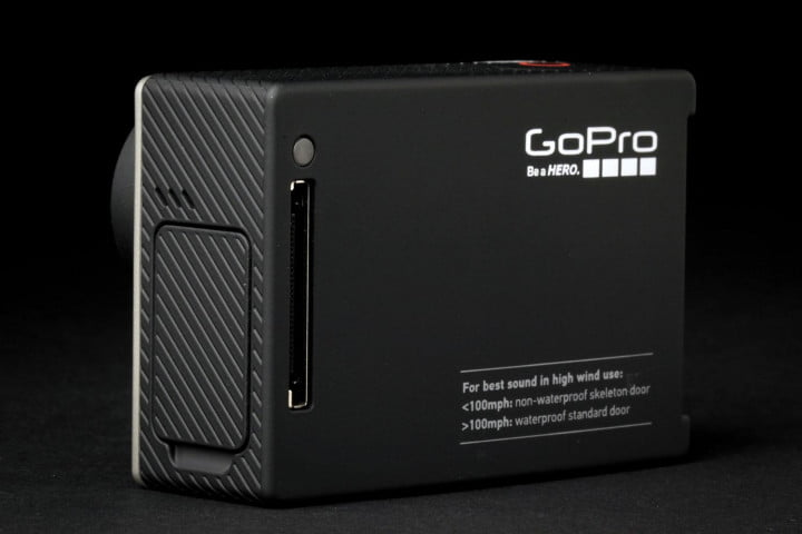 gopro hero  black review back angle