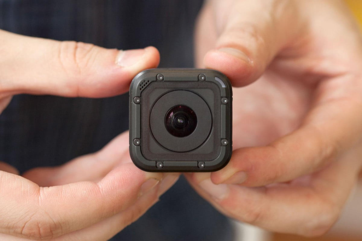 gopro hero  session camera gets second price cut hands on lens