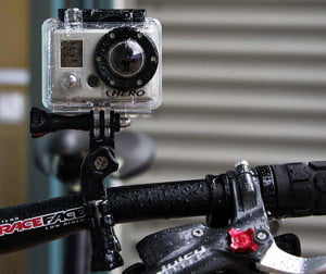 GoPro on bike