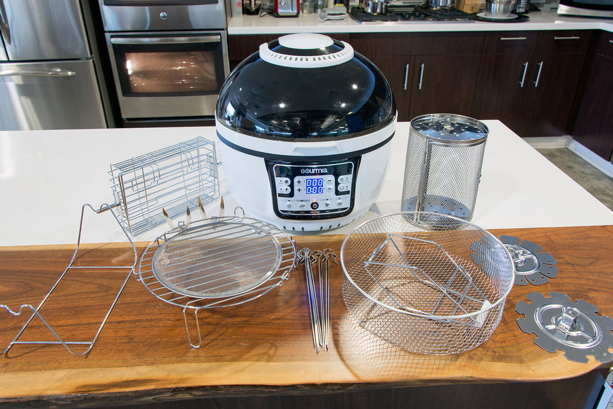 Gourmia gta2500 turbo cook air fryer review digital trends for How long to air fry fish