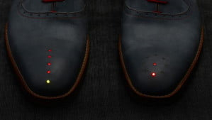 GPS Shoes LED Lights