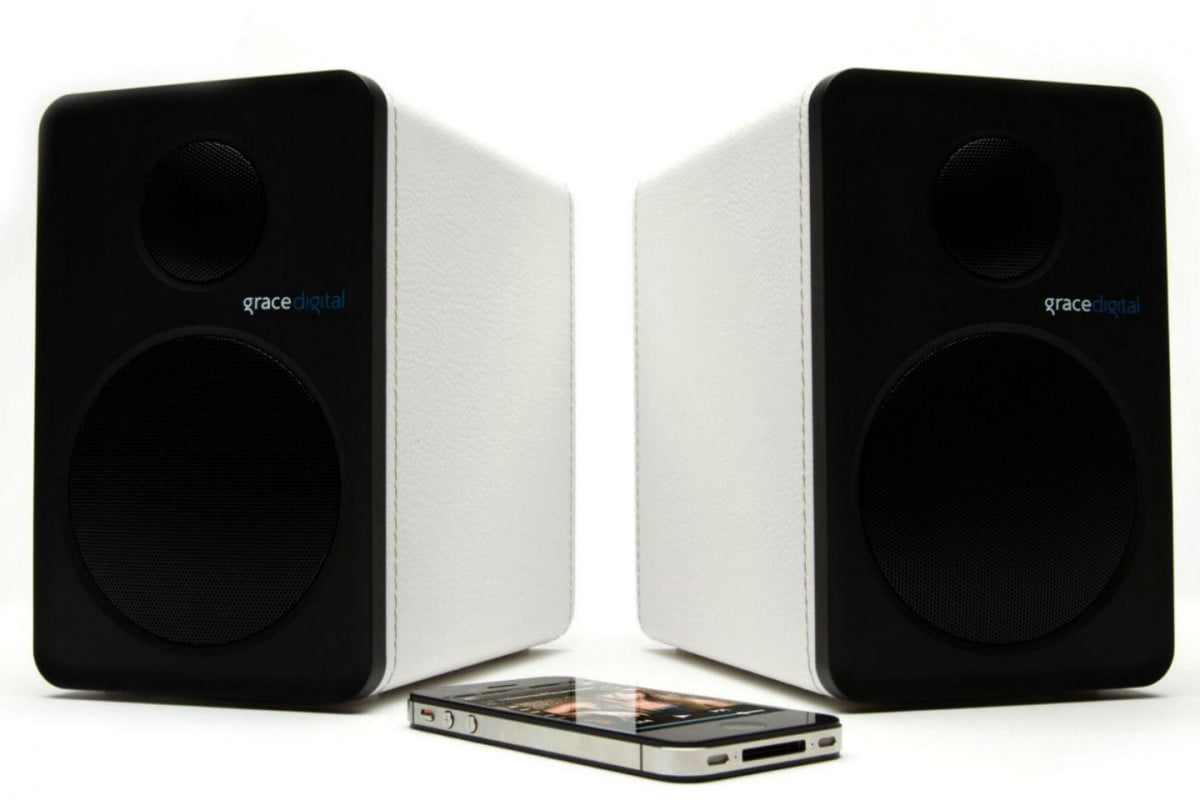 grace digital moves into the living room with new wireless shelf speakers  edit