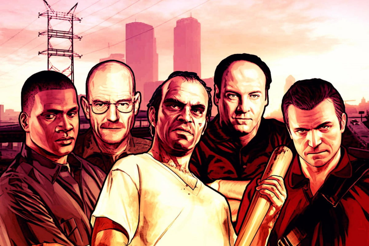 where do the stars of gta v rank among pop cultures great anti heroes grand theft auto  heros