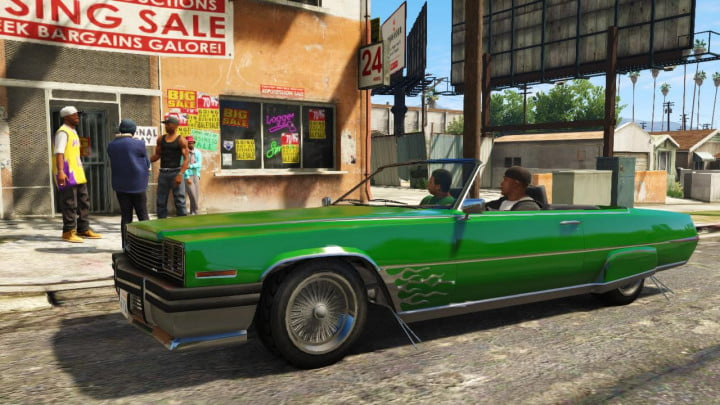 Grand Theft Auto 5 Strangers and Freaks 2