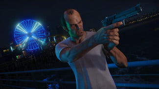 Grand Theft Auto 5 Right to bear arms