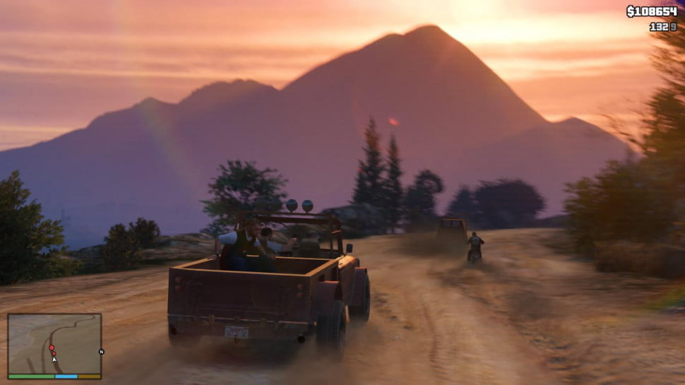 Grand Theft Auto 5 Getting around