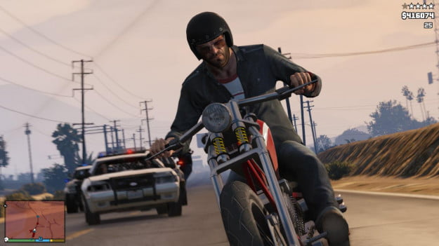 Grand Theft Auto 5 Getting away 1