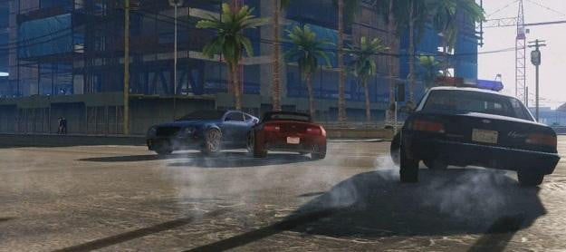 Grand Theft Auto V at gamescom out october 2012