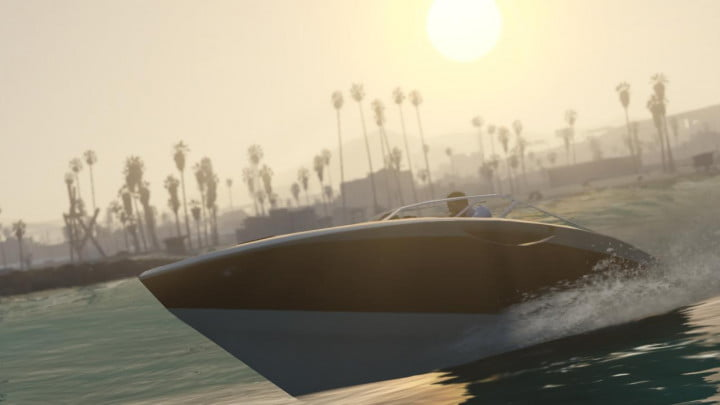 grand theft auto v shakes up the franchise with new ideas and narrative solutions speed boat