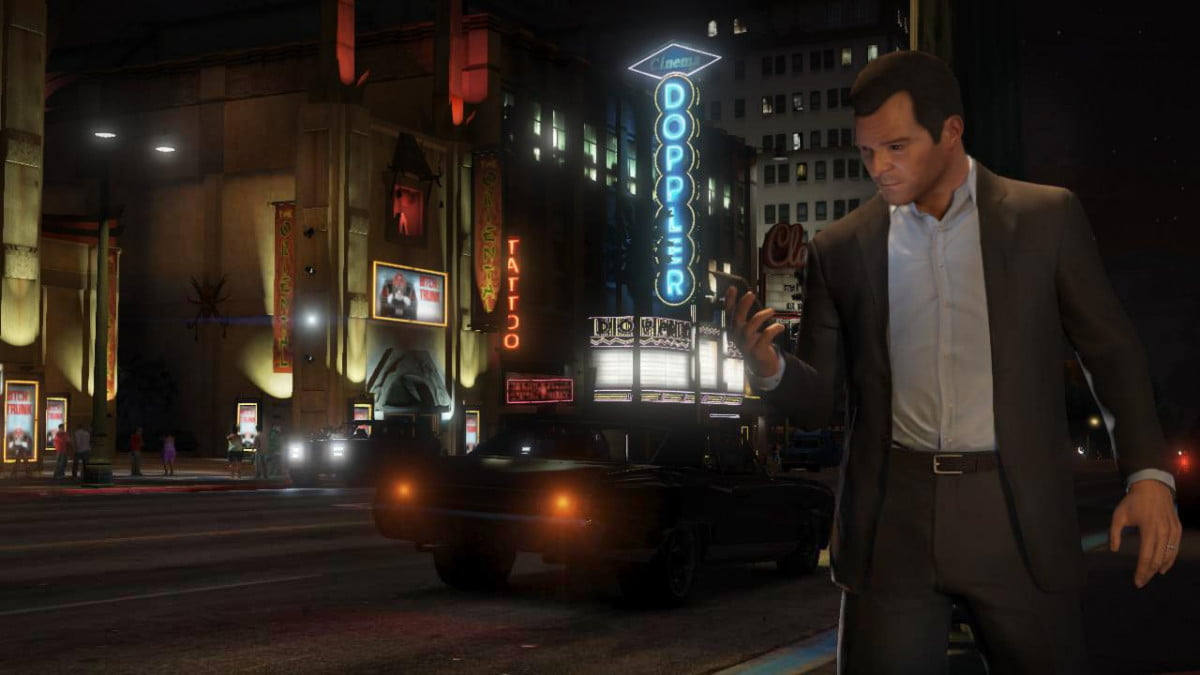 grand theft auto  may have accidentally been revealed for pc v street