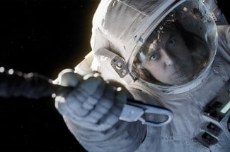 gravity movie review george clooney