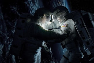 gravity movie review sandra bullock george clooney space