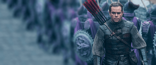 'The Great Wall' isn't great, but its wall is certainly a wonder