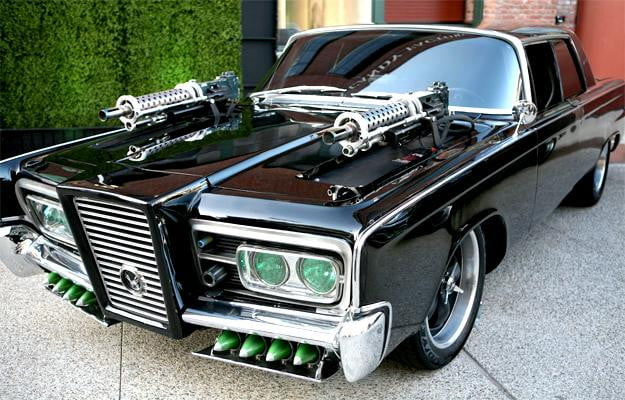 green hornet black beauty car