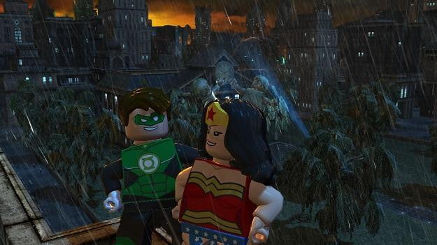 Green Lantern and Wonder Woman