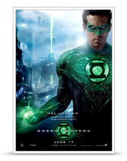 Green Latern Poster