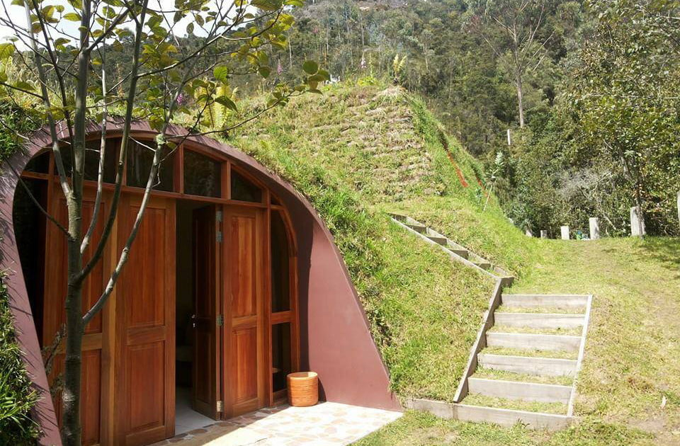 green magic homes are prefab houses covered in plants. Black Bedroom Furniture Sets. Home Design Ideas