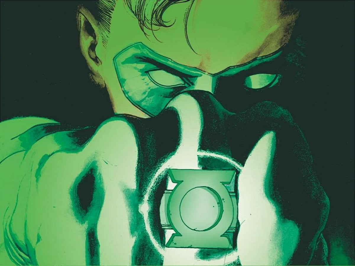 dark knight man steels writer wants shot green lantern