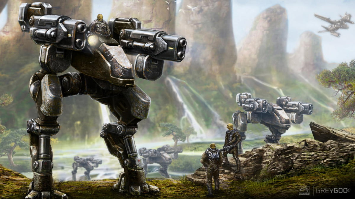 grey goo takes fresh look back days command conquer style strategy concept