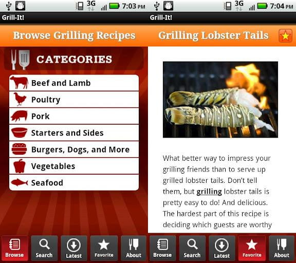 grill it screenshot iphone ipad android app