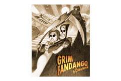 grim fandango remastered review cover art