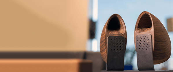 Grovemade's meticulously craftedWood Speakerssound as uniqueas they look
