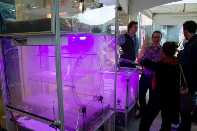 glowing indoor garden boxes future urban agriculture growcube
