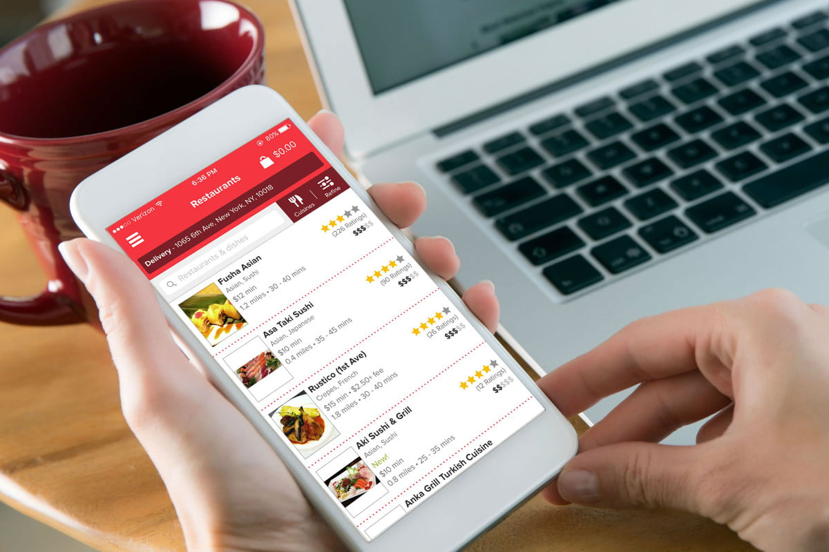best food delivery apps grubhub
