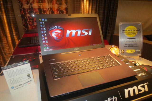 msi goes ninja renames gs  stealth adds new specs final
