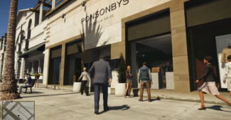 'GTA 5' features murder-fueled shopping.