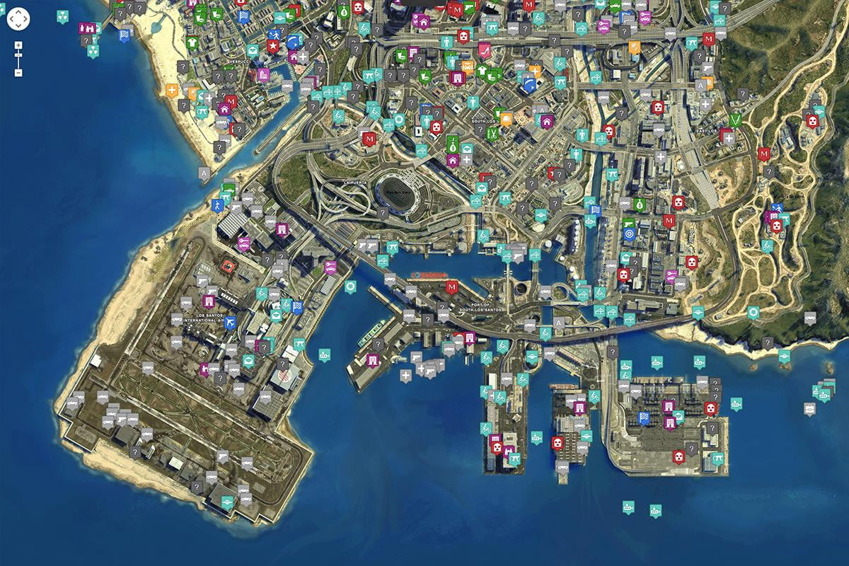 master gta v with this incredible fan made map