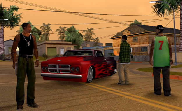 Grand Theft Auto: San Andreas -- CJ