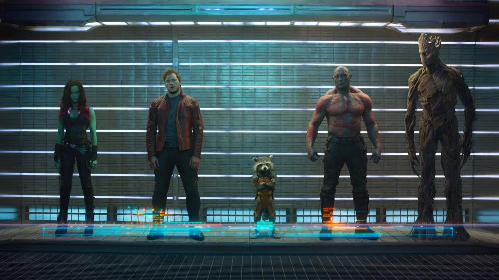 guardians galaxy trailer teased  seconds footage