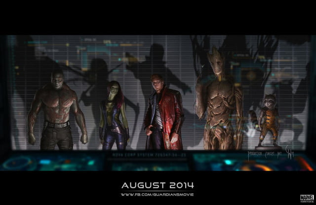 guardians galaxy trailer tickles marvels funnybone of the concept art final