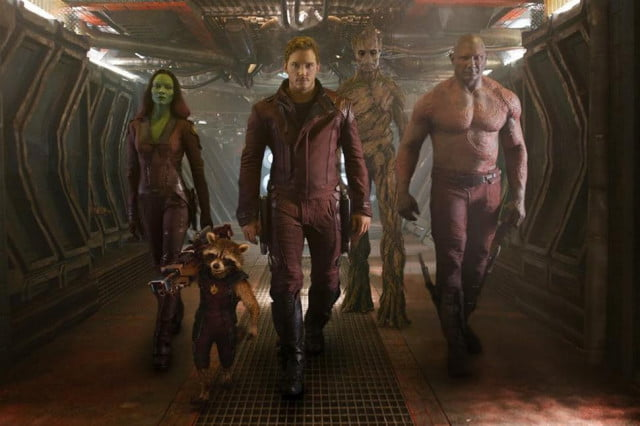 guardians galaxy director confirms nathan fillions cameo of the team