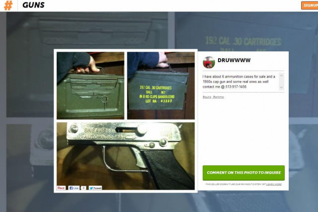 groups lobby facebook change policies guns