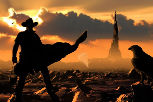 check out the first pictures of idris elba as gunslinger dark tower