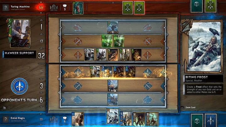 gwent the witcher card game first impressions screenshot