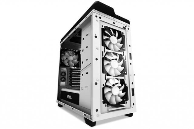 nzxts h  case ditches inch drive bays altogether wt fan