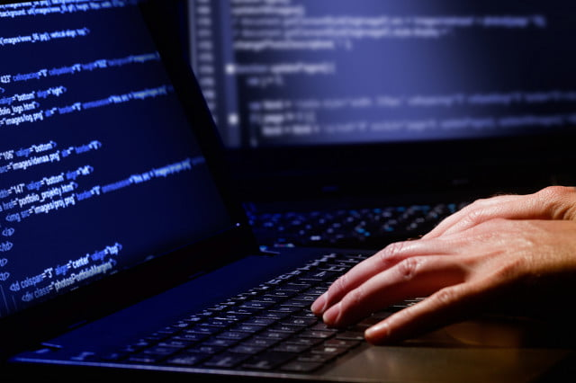russia central bank hack hacking laptop passwords code