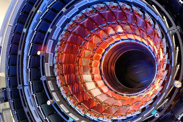 u  tour art comes from large hadron collider