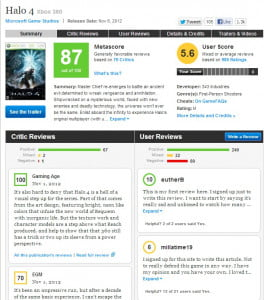 Halo 4 on Metacritic