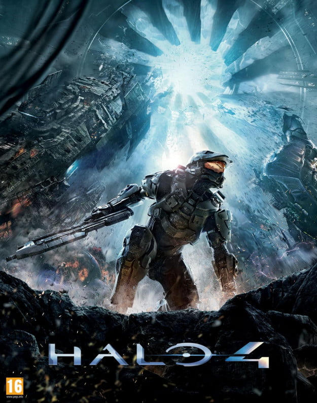 Halo 4 cover art