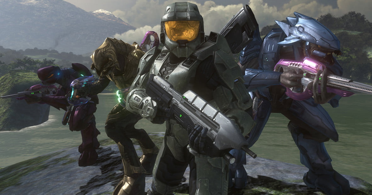 best xbox  games halo